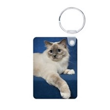 Birman Cat Note Card Keychains