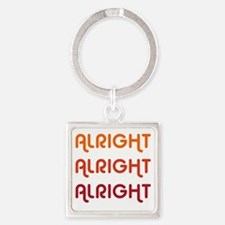 Dazed and Confused Movie Gear Alri Square Keychain