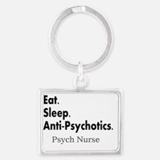 Psych Nurse Landscape Keychain