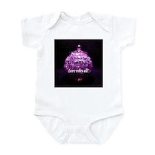 Love Rules All! Infant Bodysuit