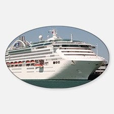 Dawn Princess Cruise Ship Sticker (Oval)