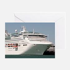 Dawn Princess Cruise Ship Greeting Card