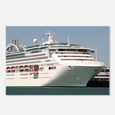 Dawn Princess Cruise Ship Postcards (Package of 8)