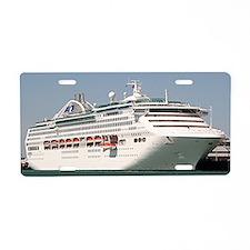 Dawn Princess Cruise Ship Aluminum License Plate
