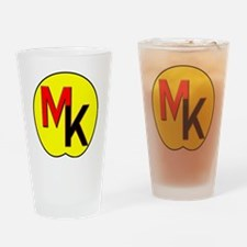 Moose Knuckle Drinking Glass