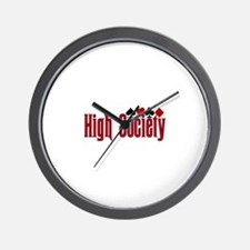 High Society Wall Clock