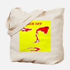Back Off Tote Bag