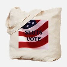 Sluts Vote Tote Bag