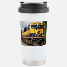 Alaska Railroad engine Travel Mug