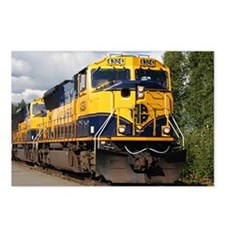 Alaska Railroad engine Postcards (Package of 8)
