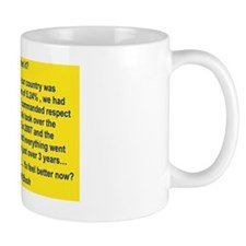 YOU INHERITED IT yard sign Mug