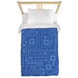Circuit board Twin Duvet Covers