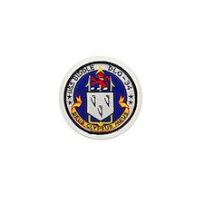 uss biddle dlg patch transparent Mini Button