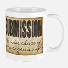 Submission Demands Courage Mug