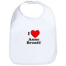 I Love Anne Bronte Bib