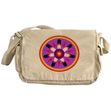 EAGLE FEATHER MEDALLION Messenger Bag