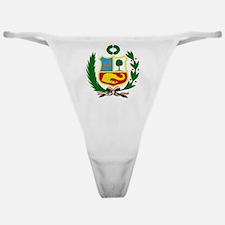 Peru Classic Thong