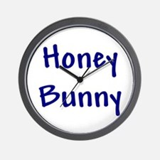 Honey Bunny Wall Clock