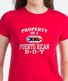 Property of a Puerto Rican Bo Tee