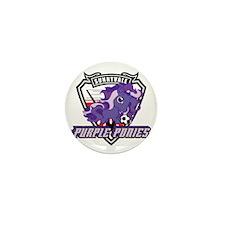 Purple Pony Apparel Mini Button