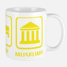EatSleepMuseums1D Mug