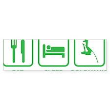 EatSleepPoleVault1D Car Sticker