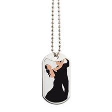 dancing couple Dog Tags