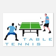 table tennis Postcards (Package of 8)