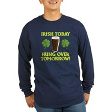 Irish today . . . Hung over t T