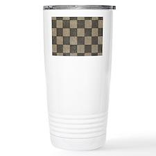 Grunge Tiles Travel Mug