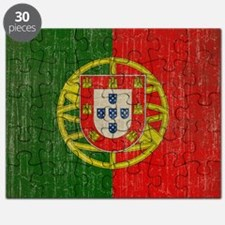 Vintage Portugal Flag Puzzle