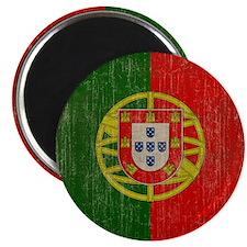 Vintage Portugal Flag Magnet