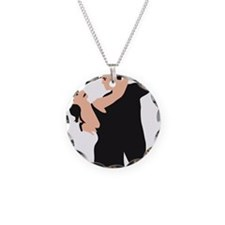 dancing couple Necklace
