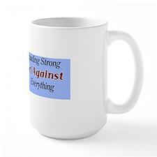 Mitt Romney Standing Strong For/Against Mug