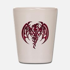 Red dragon Shot Glass