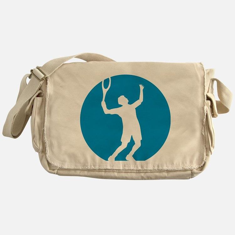 tennis player Messenger Bag