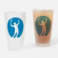 tennis player Drinking Glass