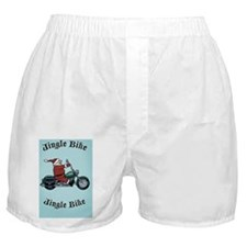 jingle-bike1 Boxer Shorts