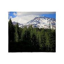 Mount Shasta 16 Throw Blanket
