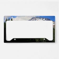 Mount Shasta 16 License Plate Holder