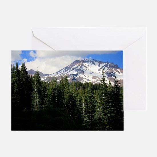 Mount Shasta 16 Greeting Card