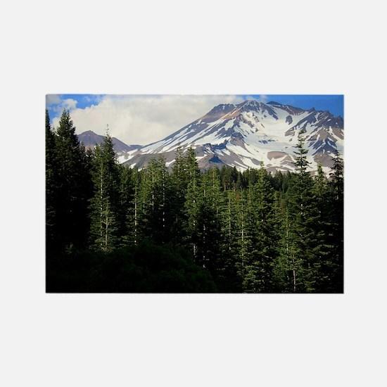 Mount Shasta 16 Rectangle Magnet