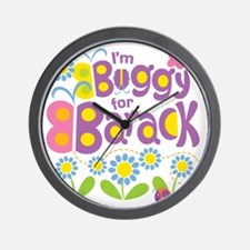 Buggy for Barack Wall Clock