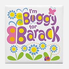 Buggy for Barack Tile Coaster