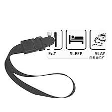 EatSleepSlayDragons1A Luggage Tag