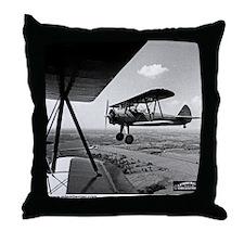 T-1976 Stearman from Stearman in air Throw Pillow