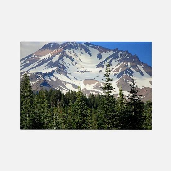 Mount Shasta 11 Rectangle Magnet