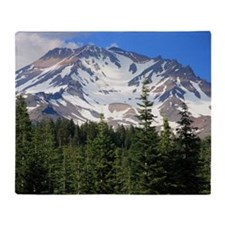 Mount Shasta 11 Throw Blanket