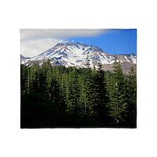 Mount Shasta 14 Throw Blanket
