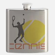 tennis player Flask